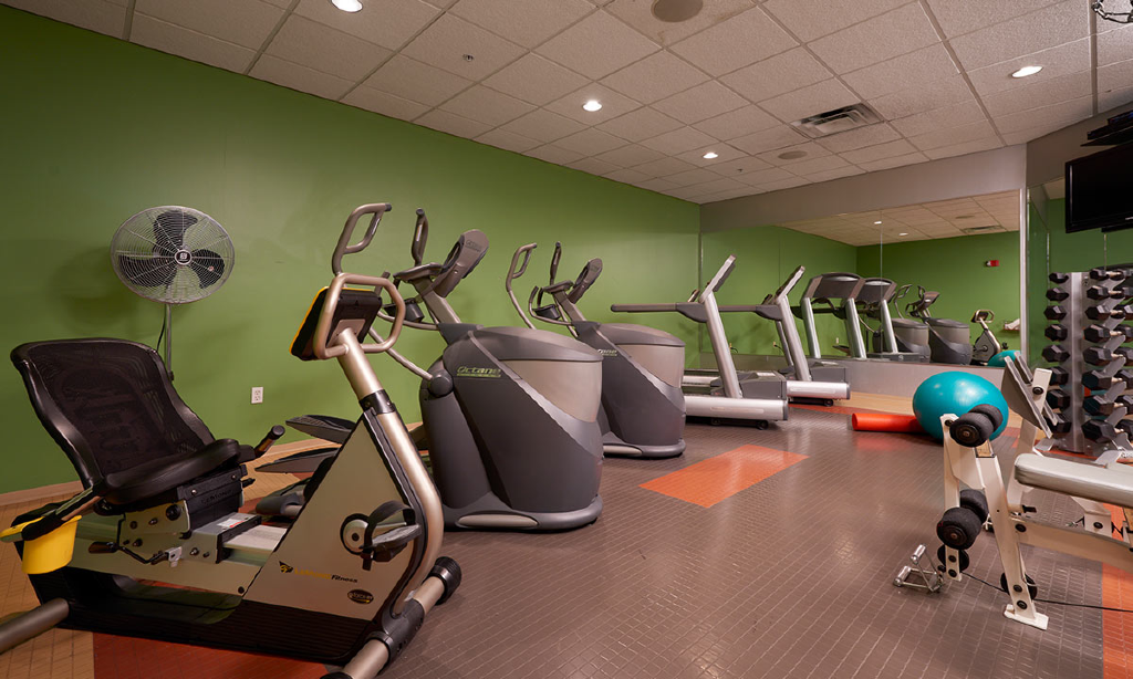 The Metro Apartments Fitness area